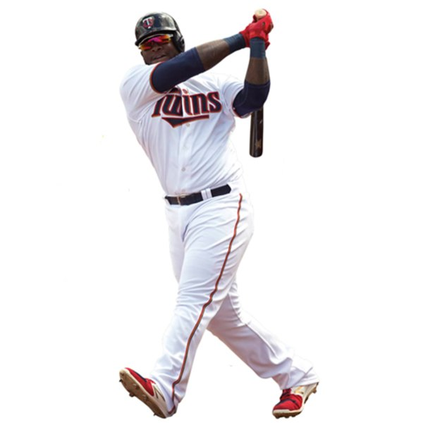 Minnesota Twins Miguel Sano Fathead Life Size Removable Wall Decal