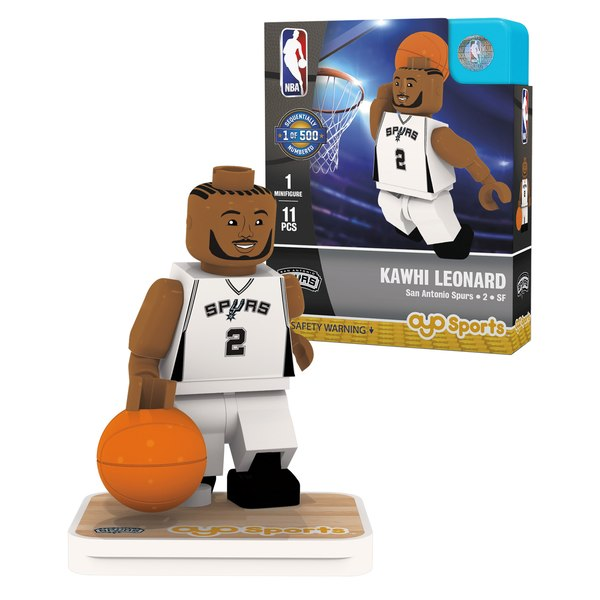 San Antonio Spurs Kawhi Leonard OYO Sports Generation 1 Player Figurine