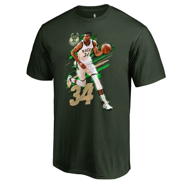 Men's Milwaukee Bucks Giannis Antetokounmpo Fanati jerseys for cheap