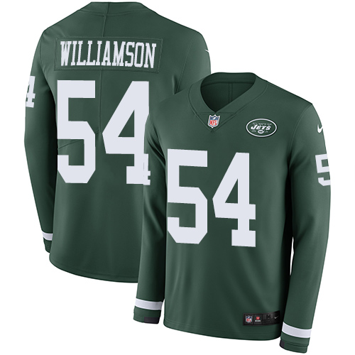 Nike Jets #54 Avery Williamson Green Team Color Me wholesale nba jerseys free shipping