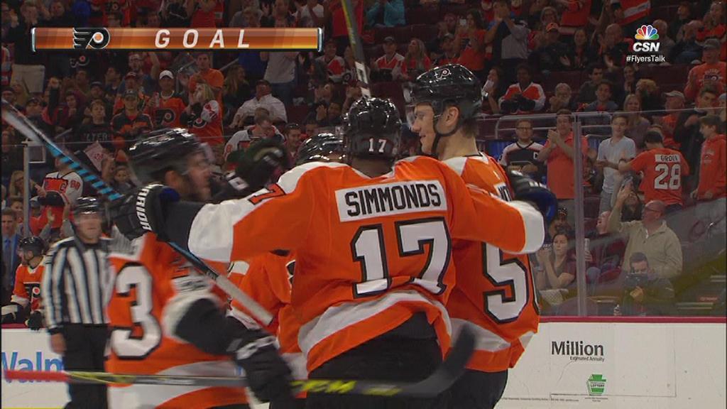 Five Flyers score in win against Bruins   NHL.com cheap nhl hockey jerseys online